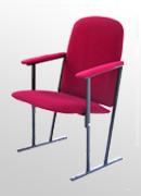 кресло для актового зала на металлокаркасе