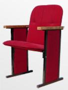Кресло для зала заседания на металлокаркасе